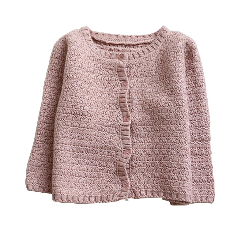 Baby Girls Clothes Kids Sweaters Outerwear Knitted Warm Cardigan Sweater Coat Long Sleeve Autumn Winter Outwear все цены
