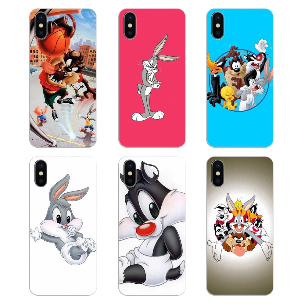 Bugs Bunny Looney Tunes Cartoon Funny 2 iphone case