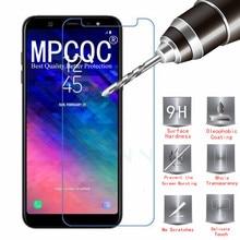 9H 2.5D Tempered Glass for Samsung Galax J8 2018 Screen Protector Phone Protective Glass for Samsung J6 J4 Plus J5 J3 J7 Glass