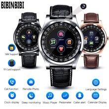 BIBINBIBI Männer Frauen Smart Uhr Unterstützung mit Kamera Bluetooth SIM SD Karte Smart uhr Armbanduhr für Android Telefon Paar band