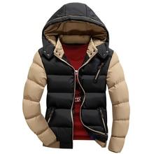 Mit kapuze Winter Jacke Männer Ente Daunenjacke Berühmte Marke Warme kapuze Parka Wintermantel Hombre Casual Fit Großen Überdimensionalen Hohe qualität
