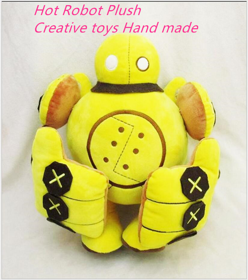 LOL35cm Child Creative plush toy steam Robotics Britz plush doll toys doll model Child Christmas Day