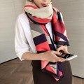Осень и зима новый геометрическая кашемир шарф Толстый теплый дамы платки