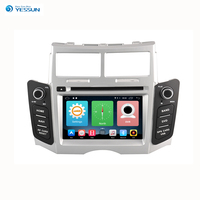 Yessun For Toyota Yaris 2007~2011 Android Multimedia Car HD Touch Screen Navigation GPS Stereo Player Audio Video Radio.