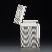 Bussiness Gas Lighter Compact Jet Butane Engraving Metal Gas PING Bright Sound Cigarette lighter Inflated No Gas все цены