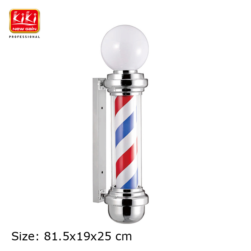 338D Size Roating Barber Pole.Salon Equipment.Barber Sign.Free Shipping.Hot Sell European Style