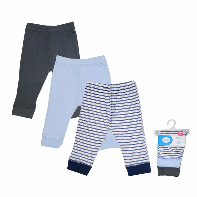 цена на 2017 New Animal Pattern Baby Boy Girl Toddler Trousers Leg Casual 0-12 M Baby Pants Blue/Pink Stripped PP Pants Bottom Trousers