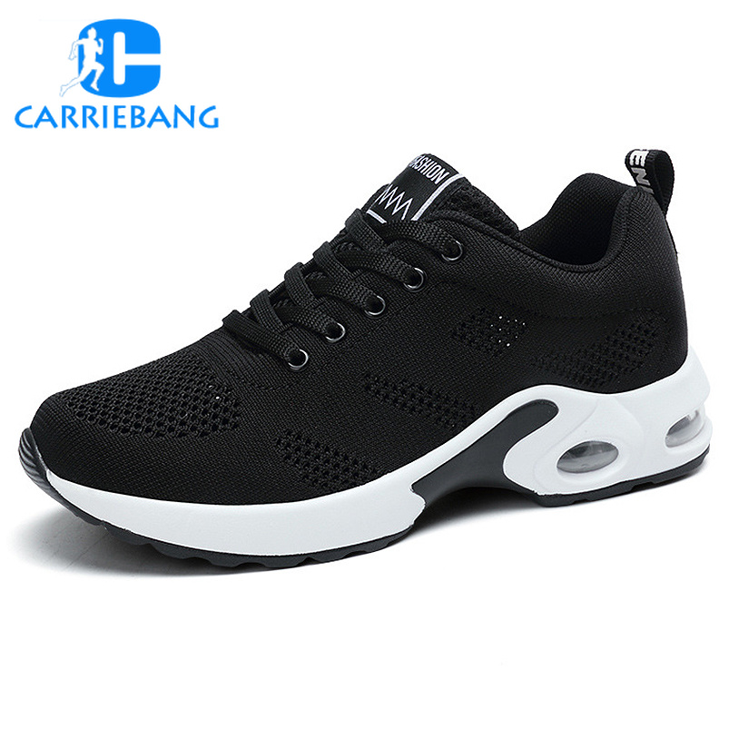 Women Tennis Shoes Outdoor Sport Breathable Women's Sneakers Fitness Air Mesh Fabric Rubber Women's Tennis Shoes Sneakers