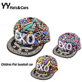 Snapback Caps Children Summer Style EXO Hip hop Baseball Cap Boy Girl Outdoor Sports Flat Cap Los Ninos Gorras de Beisbol YY0199