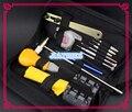 13 pcs Assistir Reparação Conjunto Kit de Ferramentas Caso Abridor/Cinta Mudando Kit de Ferramentas para Relojoeiros