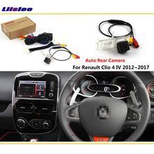 Câmera de visão traseira reversa do carro para renault clio 4 mk3 mk4 2012-2018 acessórios conectar original tela de fábrica hd ccd cam