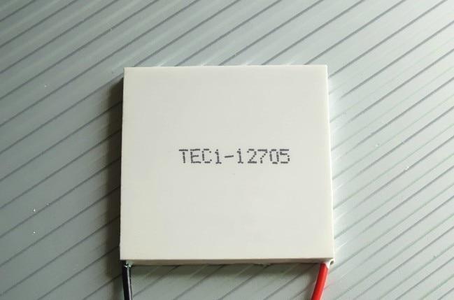 Бесплатная доставка термоэлектрический кулер охлаждающий модуль Пельтье TEC1-12705 12 В 60 Вт