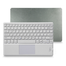 Wireless Bluetooth keyboard with Touchpad