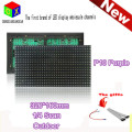 Purple P10 LED outdoor Display Module  32X16 Matrix 320*160mm waterproof  for P10 purple pink LED  scrolling Screen