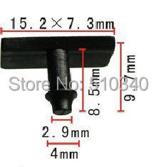 Free shipping 100pcs glasses clip for sunglass auto fasteners car sunglasses clip