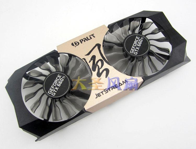 D'origine GEFORCE GTX660TI 670 GTX660TI PLA09215S12H graphique ventilateur