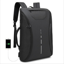USB Charging Backpack Men Laptop Backpacks Bag Multifunction Nylon Waterproof Fashion Travel Schoolbag Male Mochila