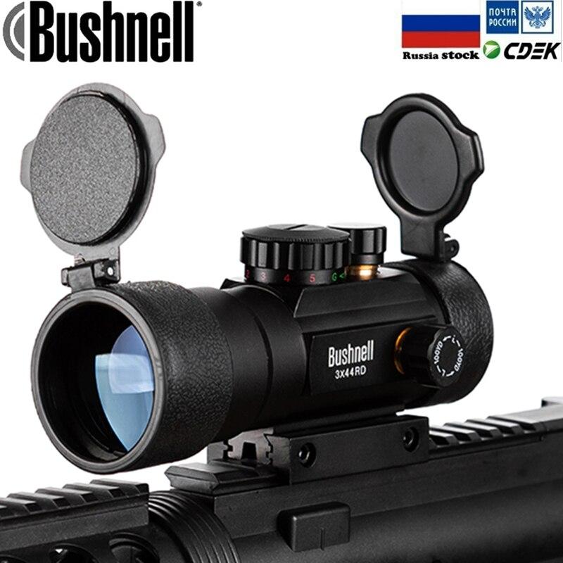 3X44 Grün Red Dot Anblick-bereich Tactical Optik Zielfernrohr Fit 11/20mm schiene Zielfernrohre für jagd