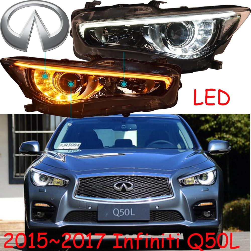 Infiniti Q50L headlight,2015~2017year,2pcs,LED,Fit for LHD&RHD,Free ship!FX37,QX60,QX80,M35,M25,EX25,Infiniti Q50L fog light;Q50 масляный фильтр infiniti qx56 qx80 gtr