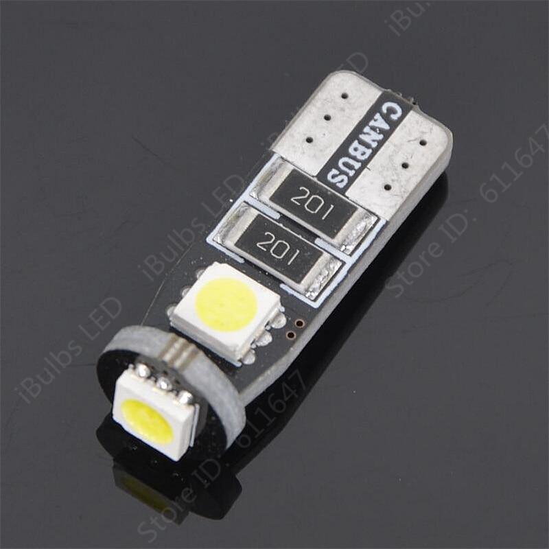 100pcs Hot Sale T10 LED 168 194 W5W 3 5050 SMD Canbus Error Free Car Auto