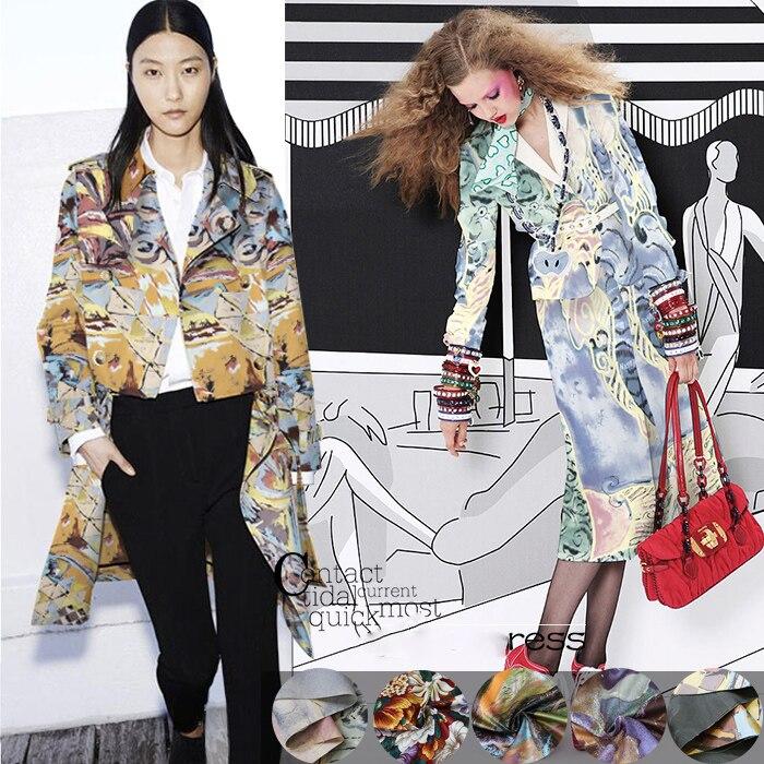6739b016a94 Пять видов новые высококачественные импортные High-end ручной работы  хлопчатобумажной ткани юбка платье пальто