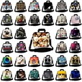 Печати плеча сумку для ноутбука 11.6 12 13.3 14.6 15 17 Ноутбук плечо Сумка Чехол для 15.6 17.3 Macbook HP Lenovo SB-3216