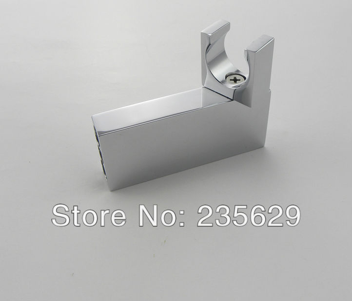 Free shipping brass material shower bracket bathroom accessories chrome plated 360 angle for Chrome plated brass bathroom accessories