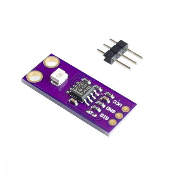 Sensor de Luz Módulo Sensor de Detecção de UV S12SD GUVA-S12SD 240nm-370nm PCB Módulo Board Para Arduino Diy Kit Eletrônico