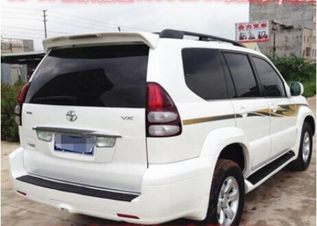 Doelstelling Jioyng Abs Verf Auto Achtervleugel Trunk Lip Spoilers Voor Toyota Land Cruiser Prado Fj120/2700/4000/ Lc120 2003-2008 (met Led Lamp)