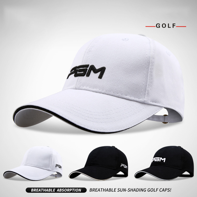 27ddad31 2019 Summer Golf Caps for Men Hats Sunscreen Outdoor Sun Hat Uv Protection  Breathable Cotton High Quality