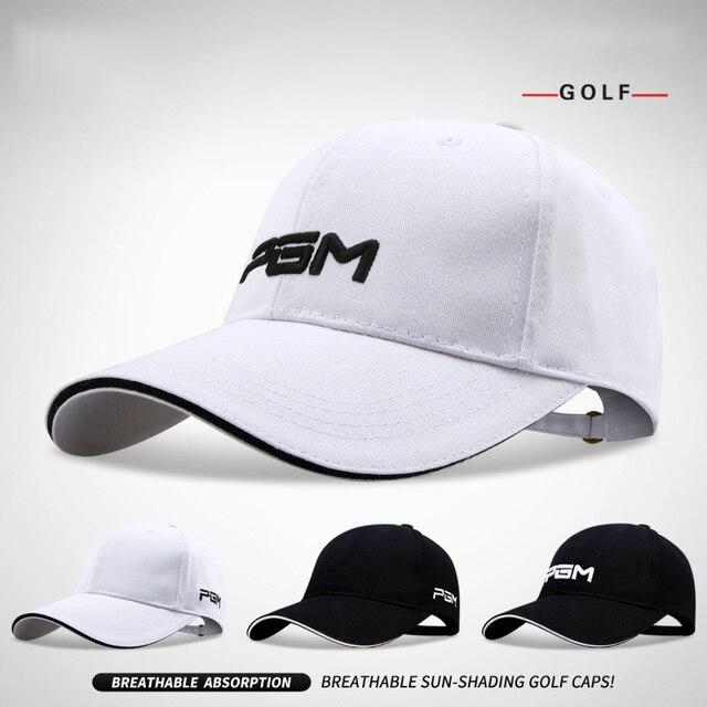 2019 Summer Golf Caps for Men Hats Sunscreen Outdoor Sun Hat Uv Protection  Breathable Cotton High d73e610383a
