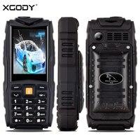 XGODY F18 Mobile Phone Ip67 2 4 Inch 2500mAh Waterproof Shockproof Key Phone FM MP3 GSM