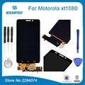 Lcd de substituição para motorola droid maxx xt1080 xt1080m lcd tela de toque digitador de vidro assembleia completo para xt 1080