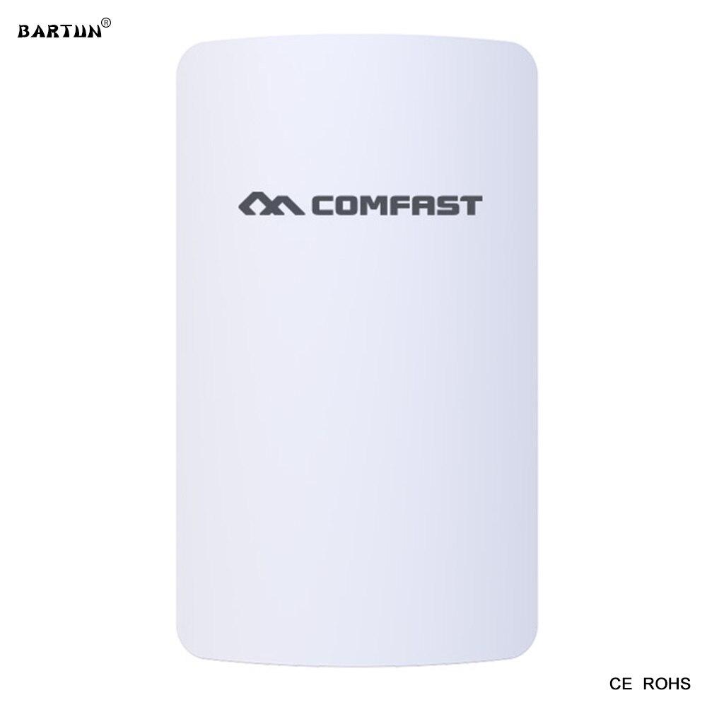 Nouveau Comfast E110N 300 M 2.4G WIFI sans fil ponts amplificateur et sans fil Signal amplificateur AP extérieur CPE réseau pont répéteur