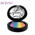 ACEVIVI  Makeup Palette Powder Naras Brand Prism Rainbow Highlighter bronzer Cosmetic Blusher Shimmer Eyeshadow Contour