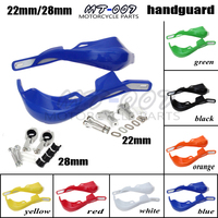 7/8 22mm Or 1 1/8 28mm Handlebar Handguards hand guards For Motorcycle Motocross Dirt Pit Bike ATV CRF YZ 250F KLX SXF