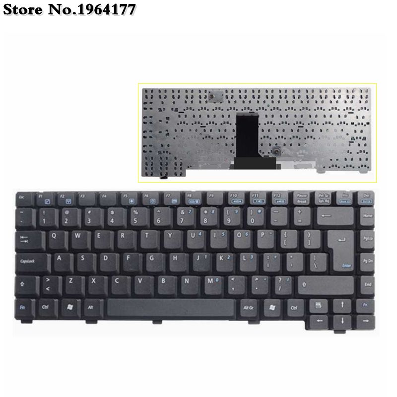 English US Keyboard for <font><b>ASUS</b></font> A6Ga A6R A6F A6G A6Je z9200vm A6Rp Z91Ac Z81Ka A6T A6Tc A6U A3G A3N <font><b>A3000</b></font> A6000 black Laptop image