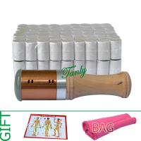 Retail Moxibustion Suit 1pcs New Type Copper Moxa Stick 108pcs 5 Years 45 1 Little Smoke
