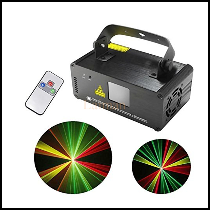 New DM-RGY200 IR Remote 8 CH DMX 512 Mini 200mW RGY Laser Stage Lighting Scanner DJ Party Show Projector Equipment Light aucd ir remote 200mw rgy laser stage lighting 8 ch dmx 512 pro scanner dj party ktv show projector equipment light dm rgy200