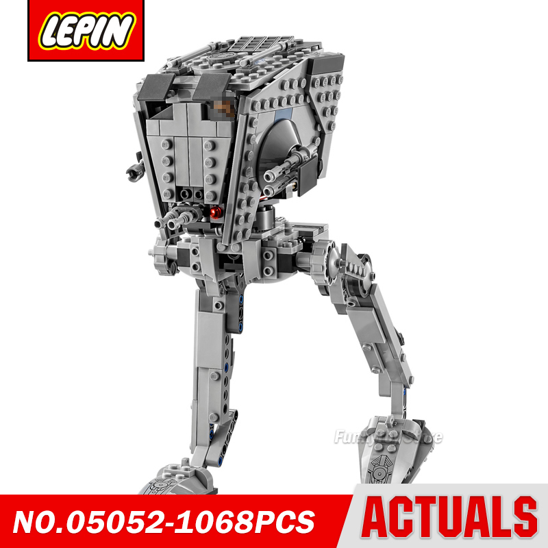 Lepin 05052 Empire Atst Walker 10174 Star Series Wars Model Building Block Brick Kits Compatible Gift Toys