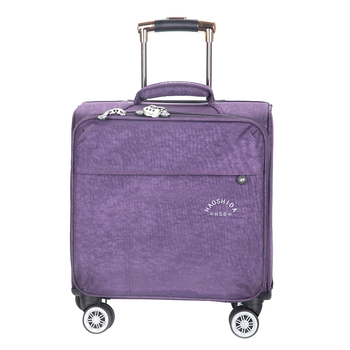 Best Price 16 INCH Waterproof Oxford Suitcase Trolley Luggage Business  Trolley Case Men s Suitcase Women Travel Luggage Bag Rolling valise 52663072ad9a4