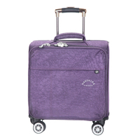 16 INCH Waterproof Oxford Suitcase Trolley Luggage Business Trolley Case Men's Suitcase Women Travel Luggage Bag Rolling valise