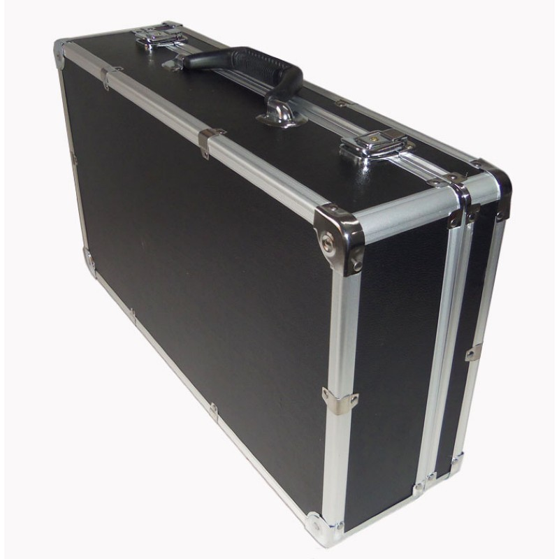 510*280*135mm Aluminum Tool Case Suitcase Toolbox File Box Impact Resistant Security Case Equipment Camera Case With Foam