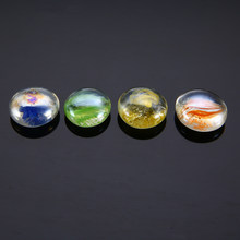 100g DIY Mosaic Beads Mixed Color Glass Gems Mosaic Tiles Crafts Vase Aquarium Garden Home Ornament Christmas Decorations(China)
