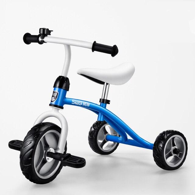 Anak anak Sepeda Roda Tiga 2 6 Tahun Kualitas Tinggi Bayi