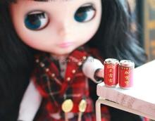 1:12 милые кукольный домик миниатюрный мини банки напитков травяной чай 2 шт. 1109