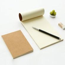 Однотонная Обложка из крафт бумаги чистый блокнот альбом для
