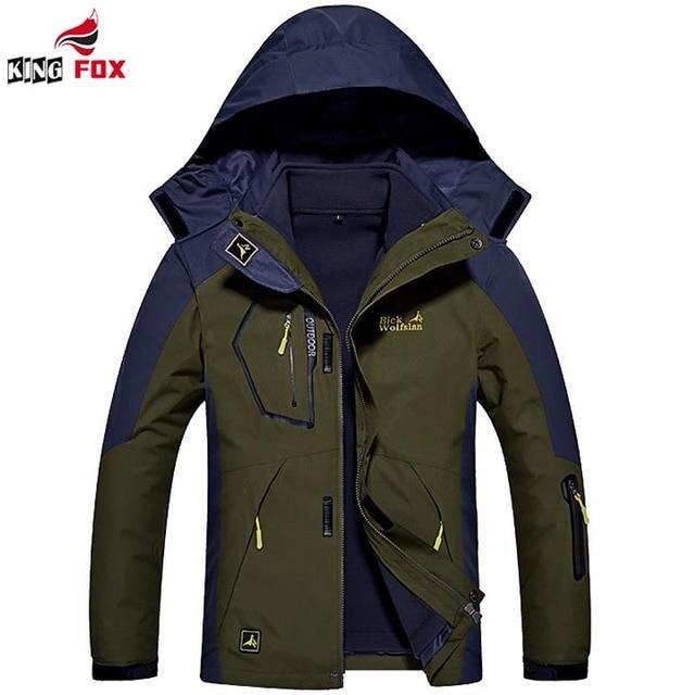 Plus size M-6XL jaqueta de inverno Das Mulheres dos homens 2 em 1 homens encapuzados inverno jaqueta parka engrossar parka à prova de vento quente à prova d' água casaco