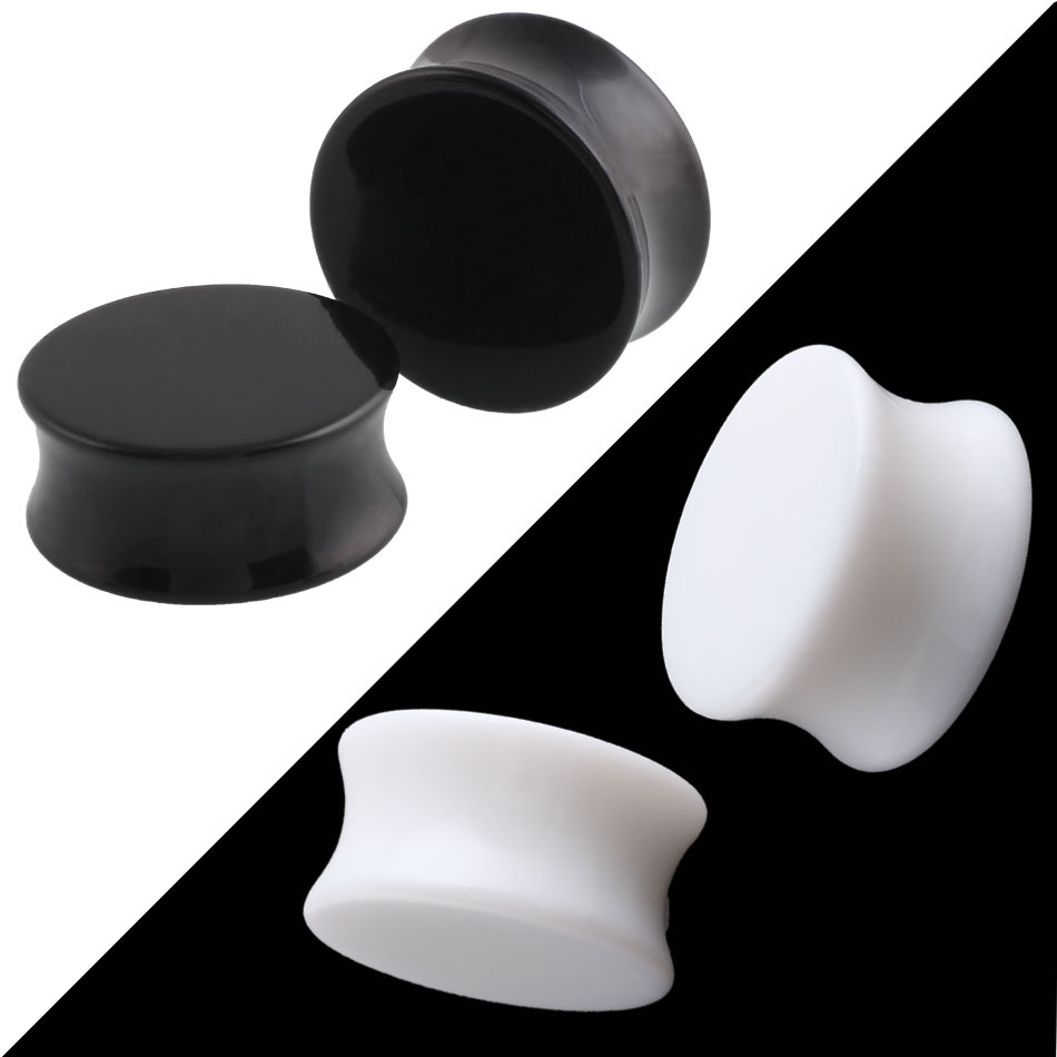 1Pc Punk Acrylic Ear Plugs...