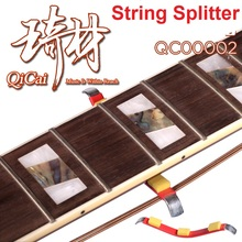 QiCai QC0002 Guitar Strings Separator for Luthier Frets Polish Repair Maintenance with Extra Sponge Foam for Added Protection